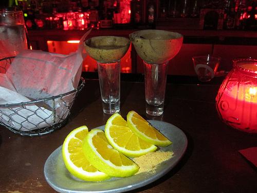 mezcal shots