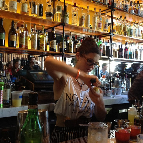 Bar Manager Brittini Rae Peterson