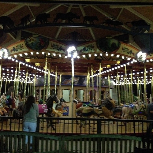 Dance Party at the Carousel