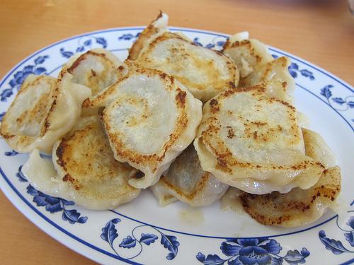 lamb and zucchini dumplings