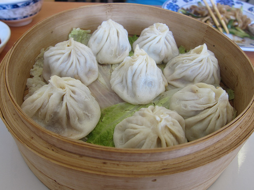 xiao long bao - juicy soup dumplings