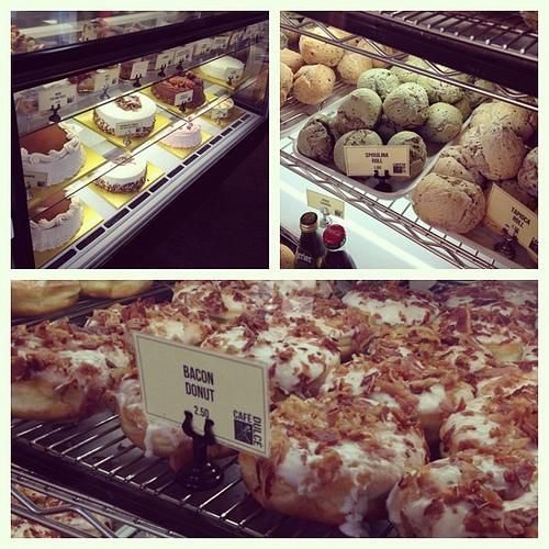 Cafe Dulce- bacon donut