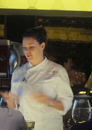 Chef Mette Williams at Culina
