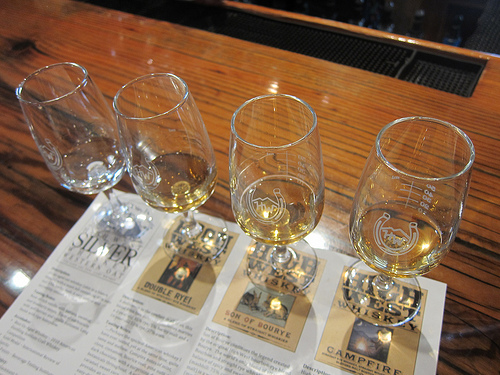 tasting at High West