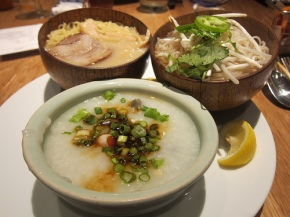 trio of soups