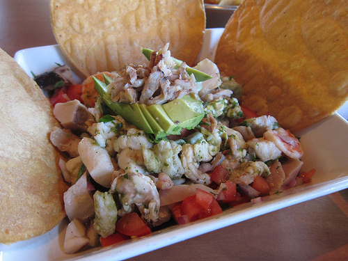 party sized mixta ceviche