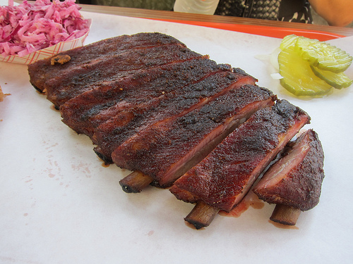 1/2 rack of ribs