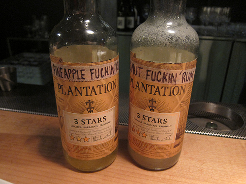 house infused rums