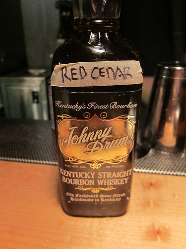 Red Cedar infused whiskey