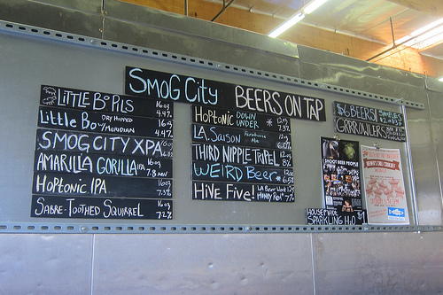 Smog City taproom