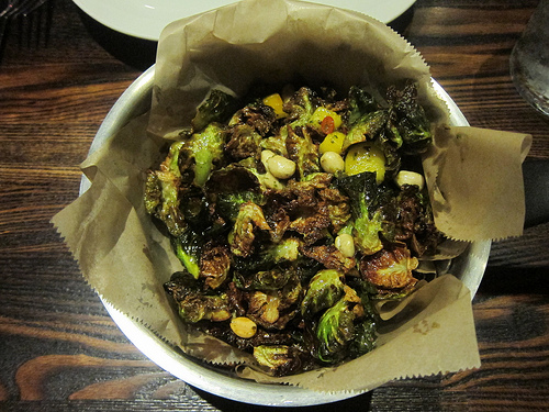 Thai style Brussels sprouts