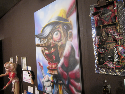 my favorite piece from last year - Pinnochio Zombie