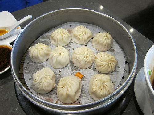 pork and crab xiao long bao