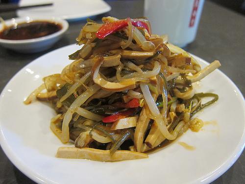 seaweed and tofu salad