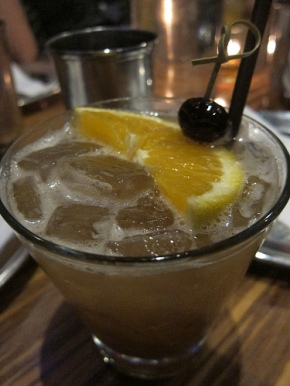 Tamarind Whiskey Sour with Hudson Baby Bourbon