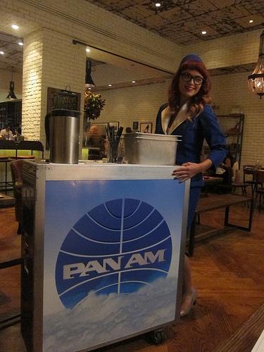 PanAm beverage cart