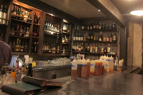 San Francisco Holding Up The Bar At Trick Dog The Minty