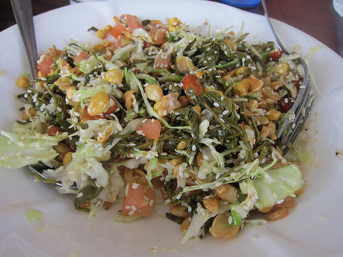 Tea Leaf Salad - mixed