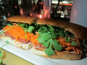 Red Med banh mi at the Formosa