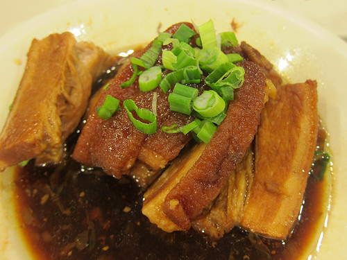 pork with preserved vegetables