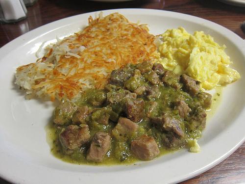 carne con chile verde