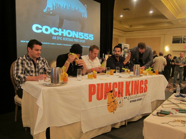 Punch Kings judges