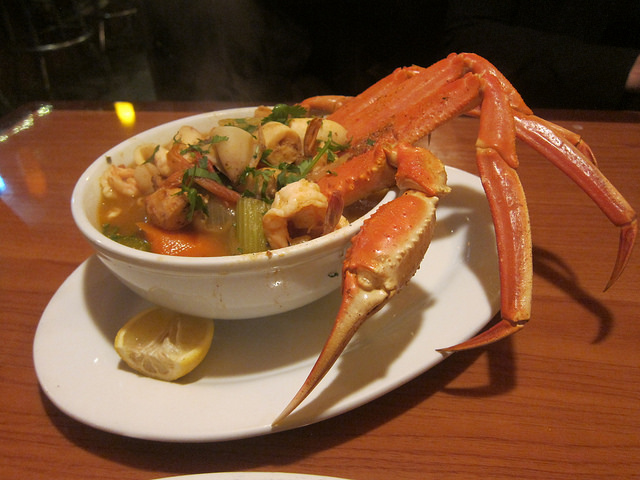 San Francisco Seafood Soup