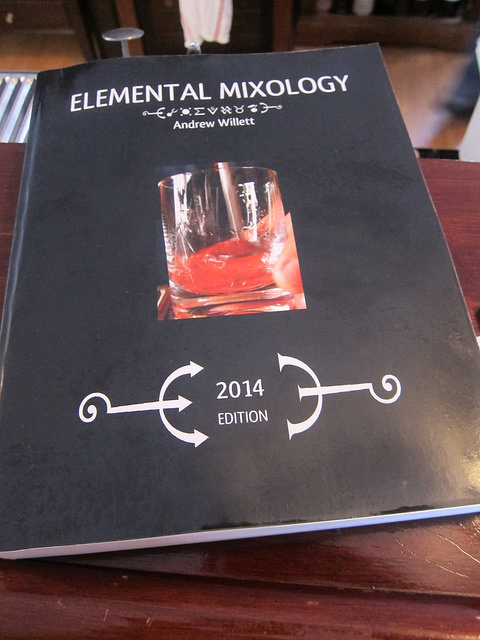 Elemental Mixology - the textbook