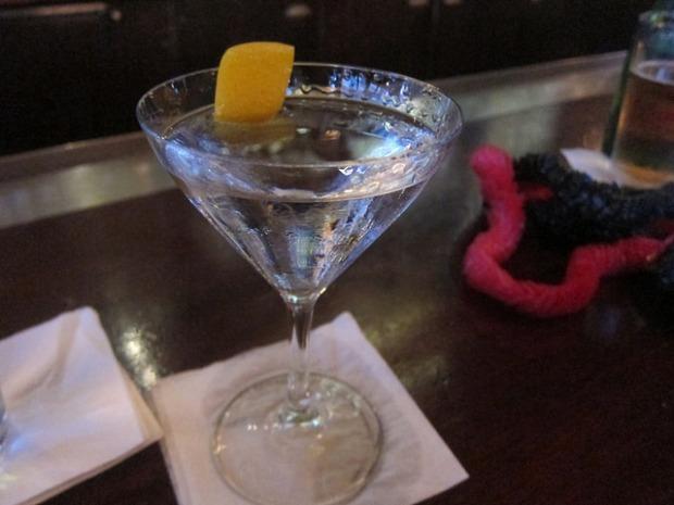 Tanqueray martini