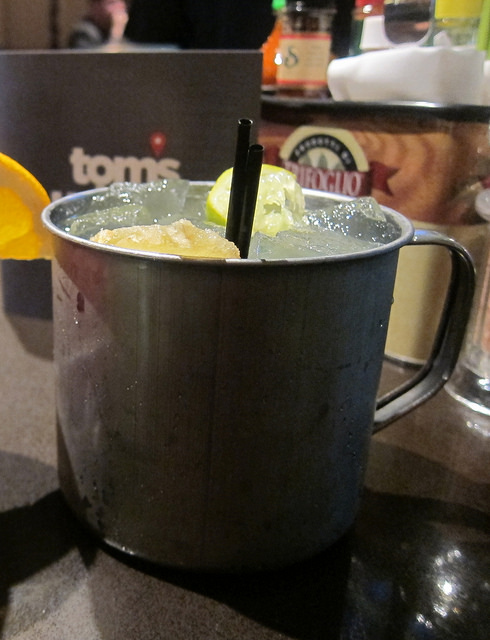 Moscow Mule on tap