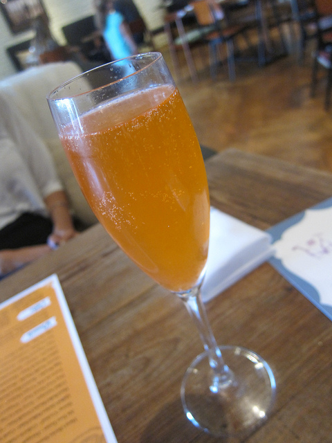 I wish I could get Aperol Spritzes all the time by cart