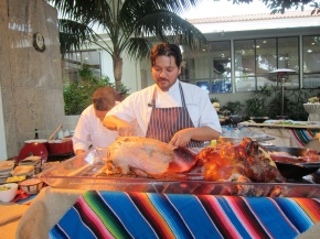 Chef Ray Garcia (Fig) at the Fairmont Miramar
