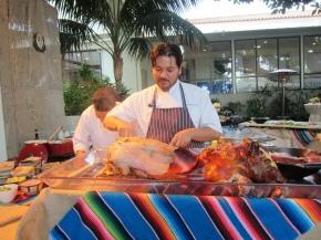 Chef Ray Garcia (Fig) at the Fairmont Miramar