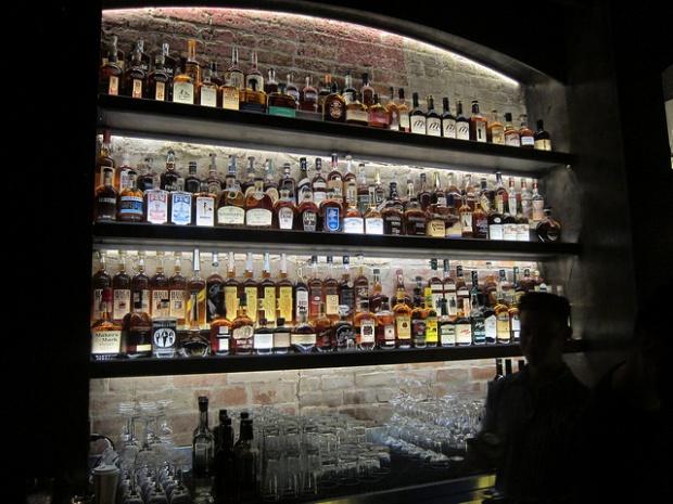 whiskey at Chestnut Club