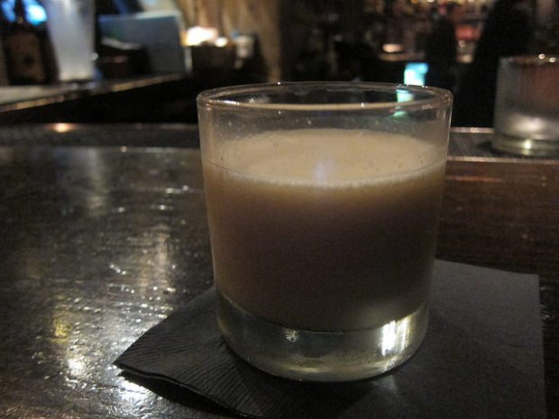 Blended Pina Colada at Cana Rum Bar