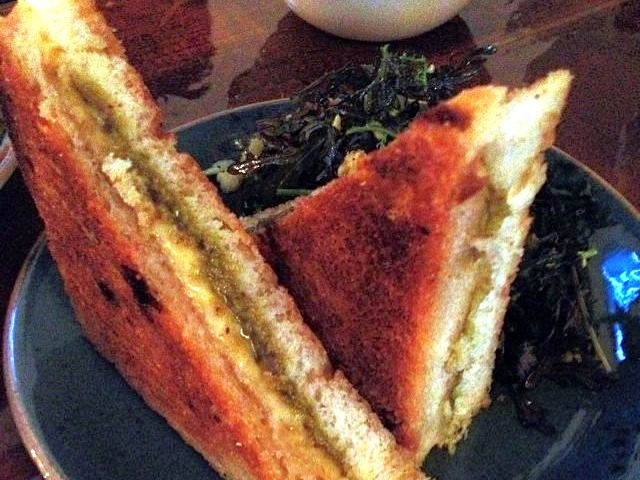 Dtla Pistachio Grilled Cheese At Bar Mitzvah The Minty
