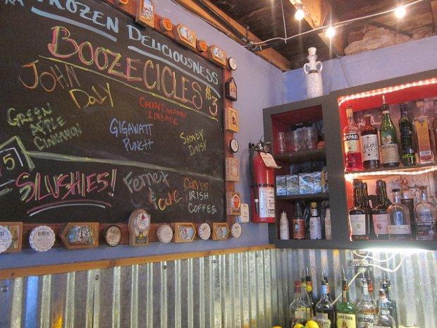 fun booze options at Star Bar