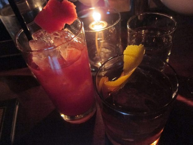 drinks at Williams and Graham