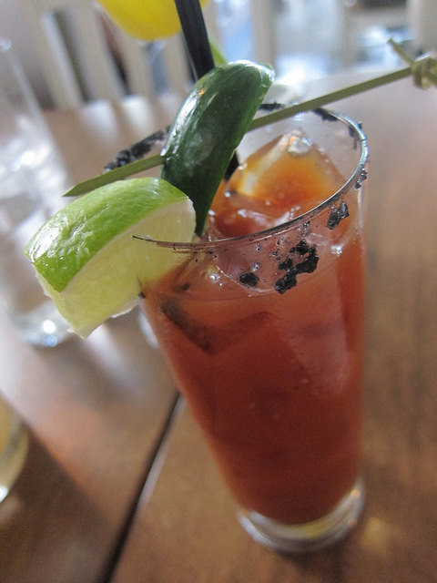 Mezcal Bloody Mary