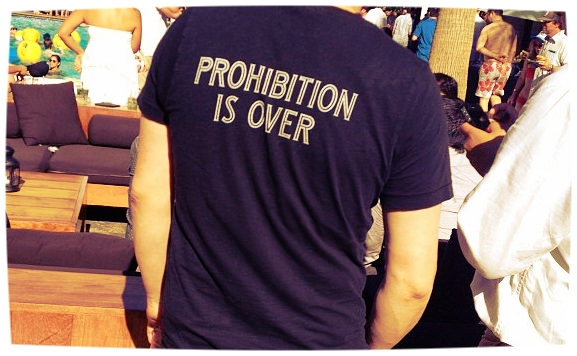 Prohibition is over