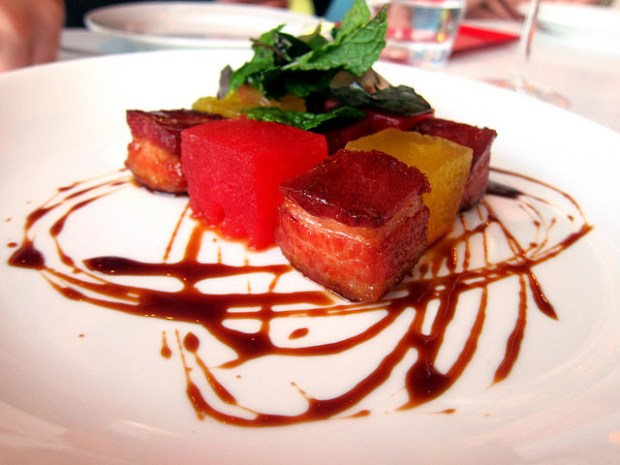 pork with watermelon