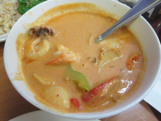 seafood penang curry