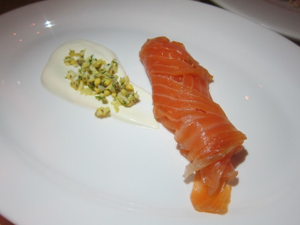 aquavit cured salmon