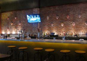 the bar at Wang's