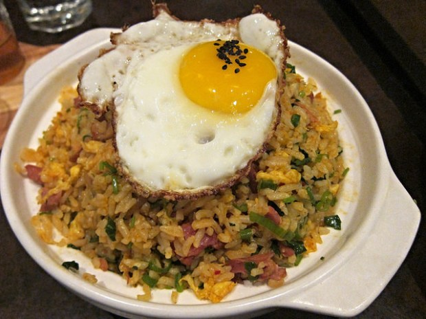 kimchi duck fried rice