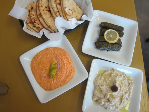 dips and dolma