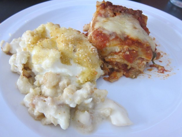 mac and cheese, lasagna