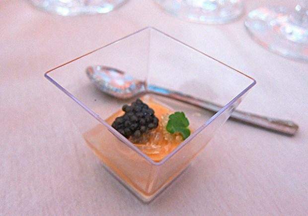 Uni, licorice, caviar