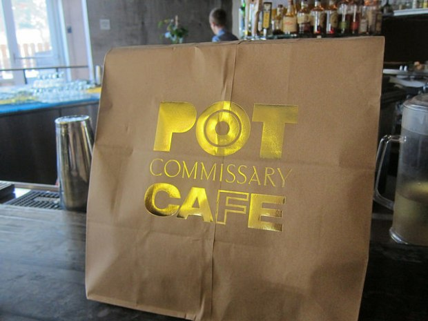 I love the take out bag at POT