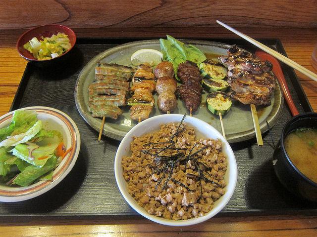 Little Tokyo Lunch At Yakitori Koshiji The Minty